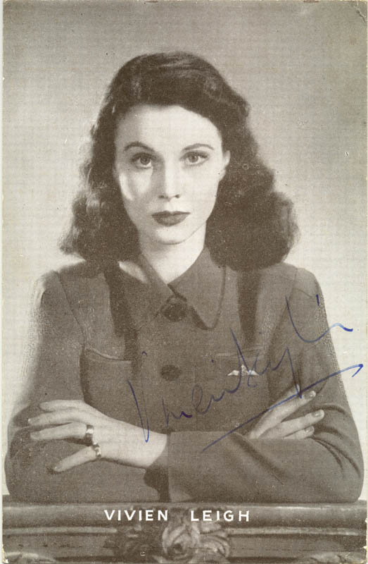 Image 1 for Vivien Leigh - Advertisement Signed - HFSID 76475