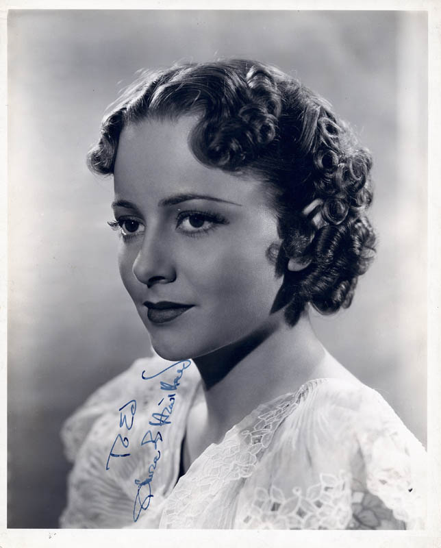 Image 1 for Olivia De Havilland - Autographed Inscribed Photograph - HFSID 765