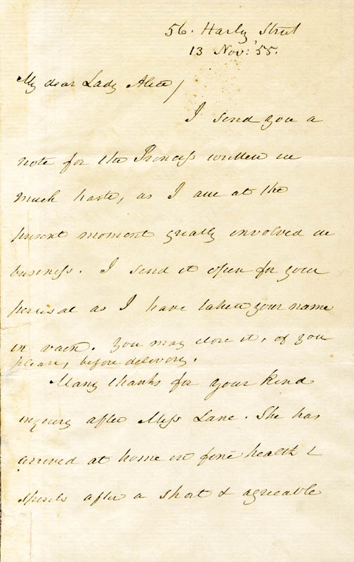 Image 1 for President James Buchanan - Autograph Letter Signed 11/13/1855 - HFSID 76509