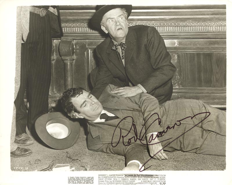 Image 1 for Rod Cameron - Autographed Signed Photograph - HFSID 76594
