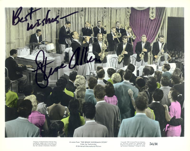 Image 1 for Steve Allen - Autographed Signed Photograph - HFSID 76629