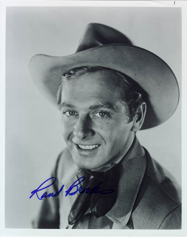 Image 1 for Rand Brooks - Autographed Signed Photograph - HFSID 76761