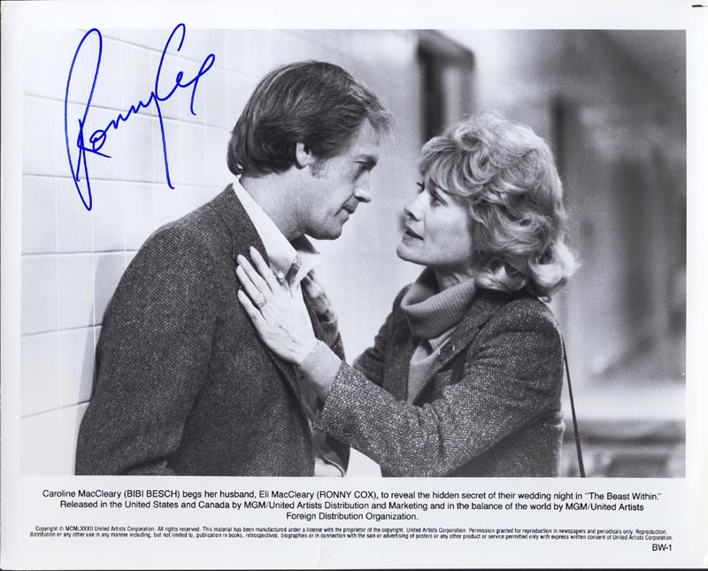 Image 1 for Ronny Cox - Autographed Signed Photograph - HFSID 76785