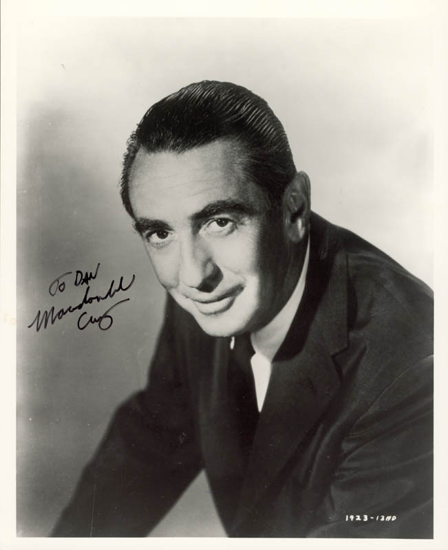 Image 1 for Macdonald Carey - Autographed Inscribed Photograph - HFSID 76832