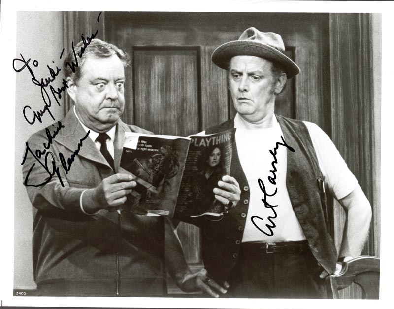 Image 1 for Art Carney - Autographed Signed Photograph - HFSID 76889