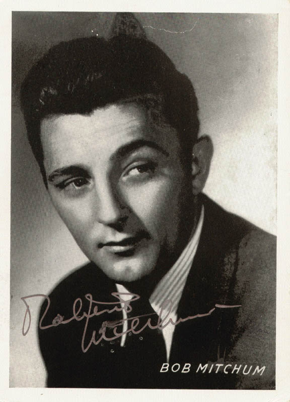 Image 1 for Robert Mitchum - Autographed Signed Photograph - HFSID 77012