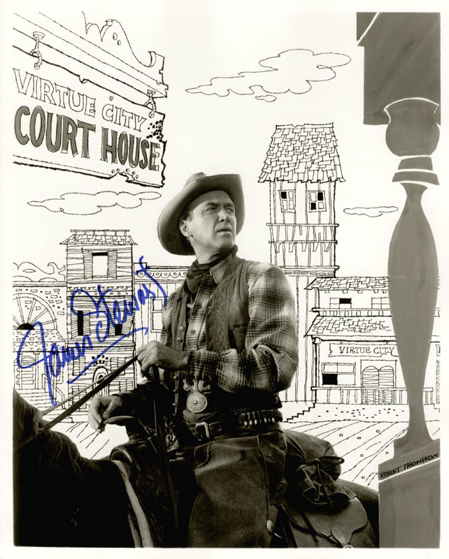 Image 1 for James 'Jimmy' Stewart - Autographed Signed Photograph - HFSID 77156