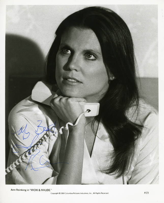 Image 1 for Ann Reinking - Autographed Signed Photograph - HFSID 77202