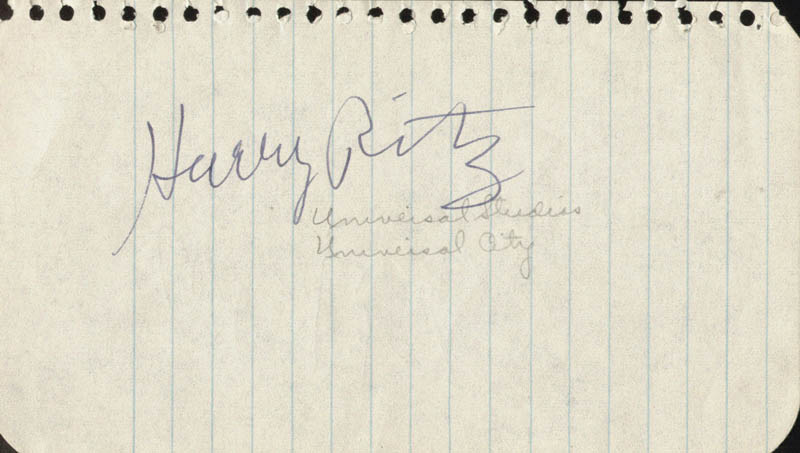 Image 3 for The Ritz Brothers (Al Ritz) - Autograph co-signed by: The Ritz Brothers (Harry Ritz) - HFSID 77421