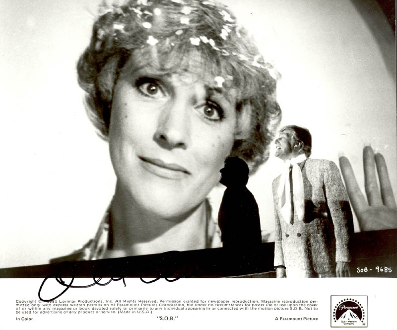 Image 1 for Julie Andrews - Autographed Signed Photograph - HFSID 77610
