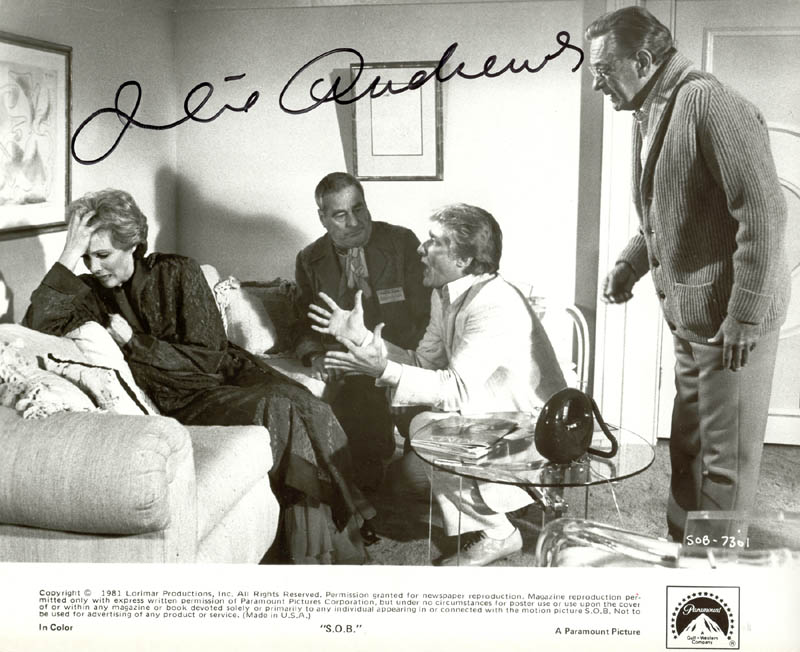 Image 1 for Julie Andrews - Autographed Signed Photograph - HFSID 77611