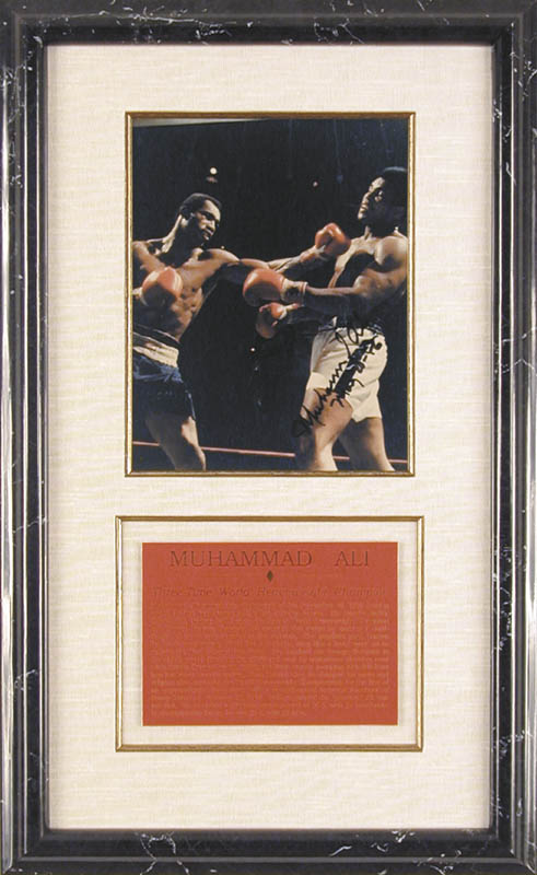 Image 1 for Muhammad 'The Greatest' Ali - Autographed Signed Photograph 05/20/1986 - HFSID 77787