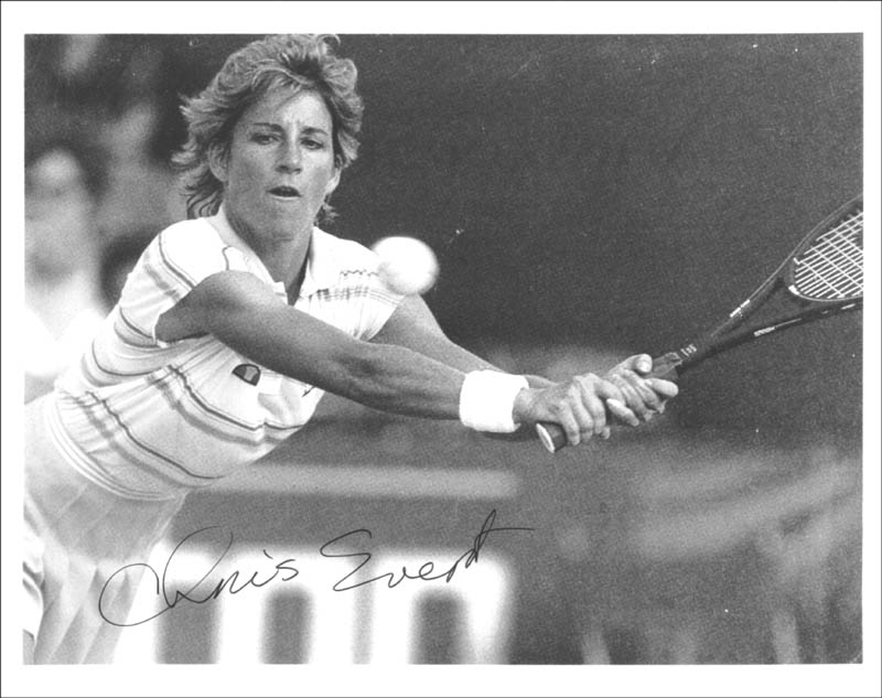 Image 1 for Chris Evert - Autographed Signed Photograph - HFSID 78023