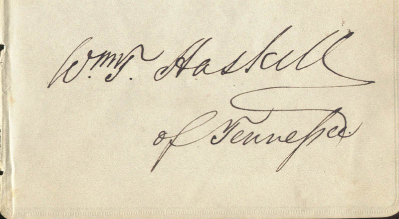 Image 1 for William T. Haskell - Autograph - HFSID 78251