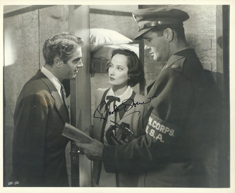 Image 1 for Merle Oberon - Autographed Signed Photograph - HFSID 78307