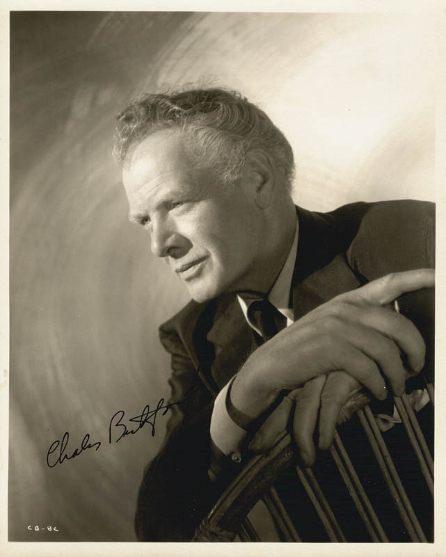 Image 1 for Charles Bickford - Autographed Signed Photograph - HFSID 78311