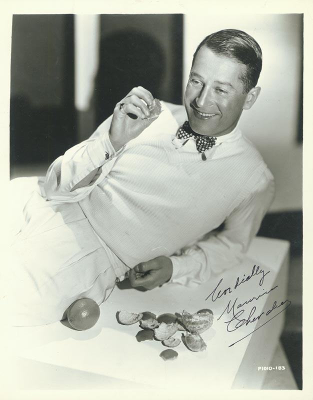 Image 1 for Maurice Chevalier - Autographed Signed Photograph - HFSID 78313
