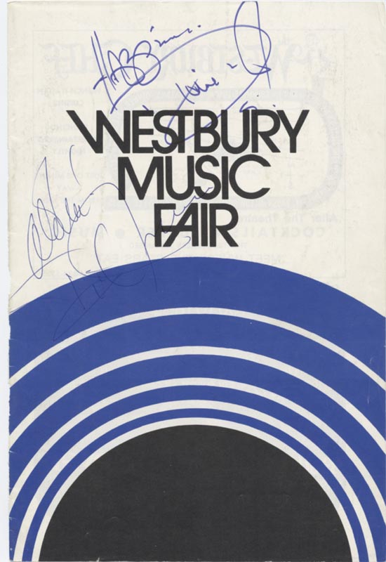 Image 1 for Dionne Warwick - Show Bill Signed co-signed by: Dick Jensen - HFSID 78795