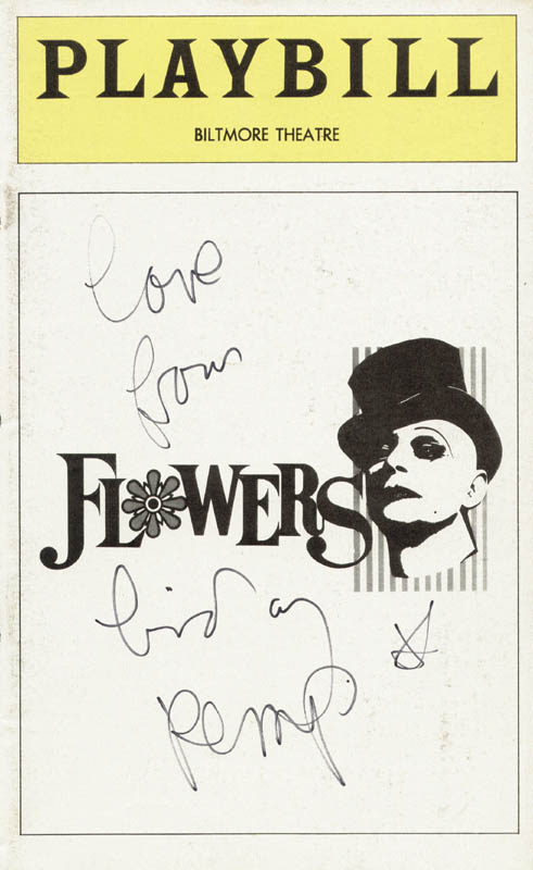 Image 1 for Lindsay Kemp - Show Bill Cover Signed - HFSID 78798