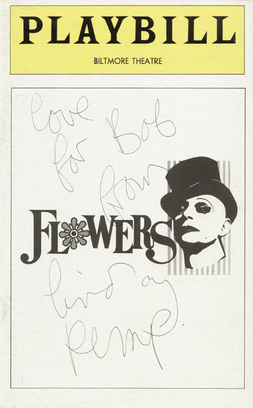 Image 1 for Lindsay Kemp - Inscribed Show Bill Cover Signed - HFSID 78800