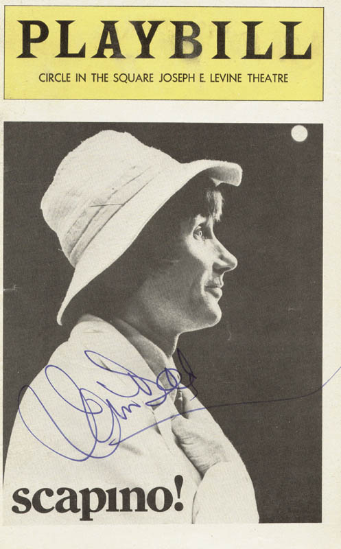 Image 1 for Jim Dale - Show Bill Cover Signed - HFSID 78812