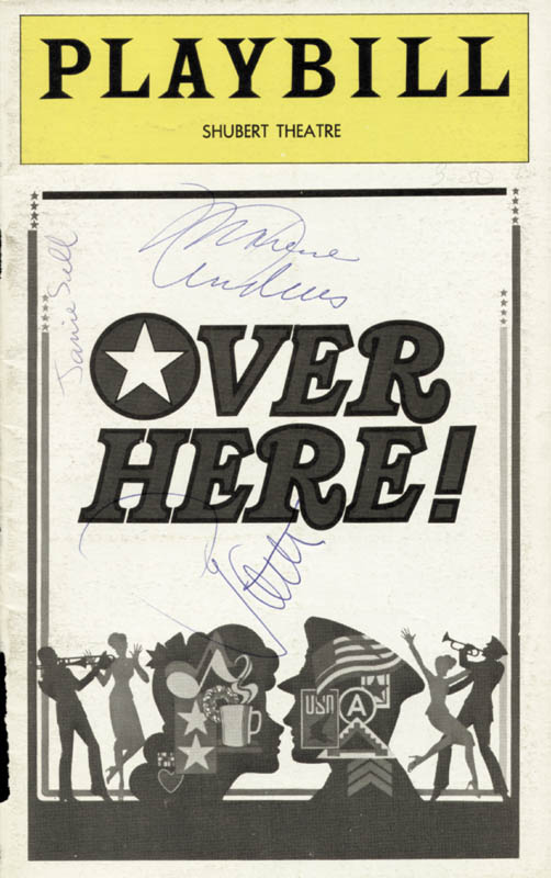 Image 1 for Patty Andrews - Show Bill Signed co-signed by: Maxene Andrews, Janie Sill - HFSID 78835