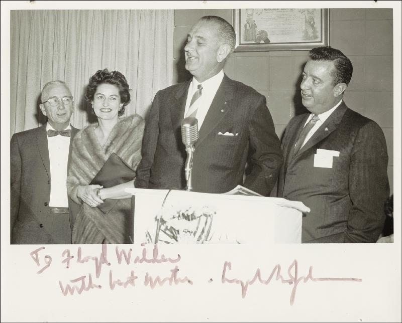 Image 1 for President Lyndon B. Johnson - Autographed Inscribed Photograph - HFSID 78908