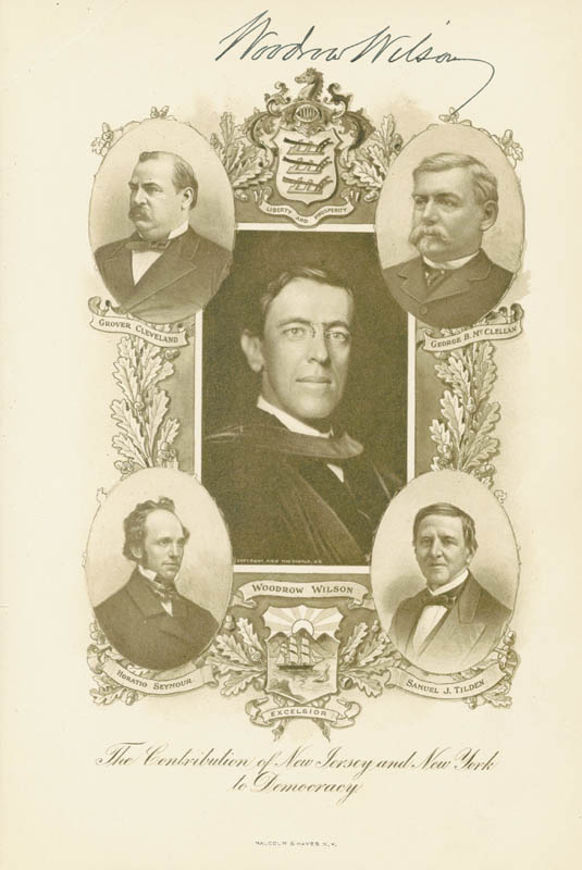 Image 1 for President Woodrow Wilson - Program Signed 10/12/1910 - HFSID 78935