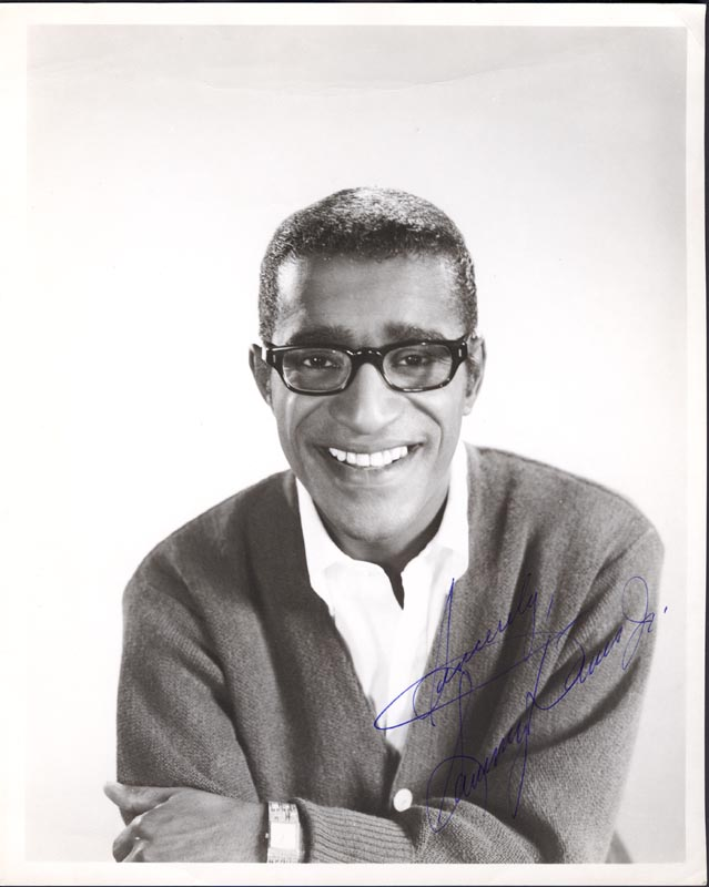 Image 1 for Sammy Davis Jr. - Autographed Signed Photograph - HFSID 78959