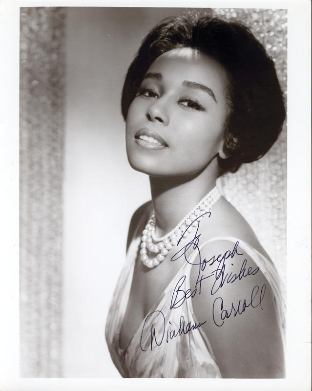 Image 1 for Diahann Carroll - Autographed Inscribed Photograph - HFSID 78963