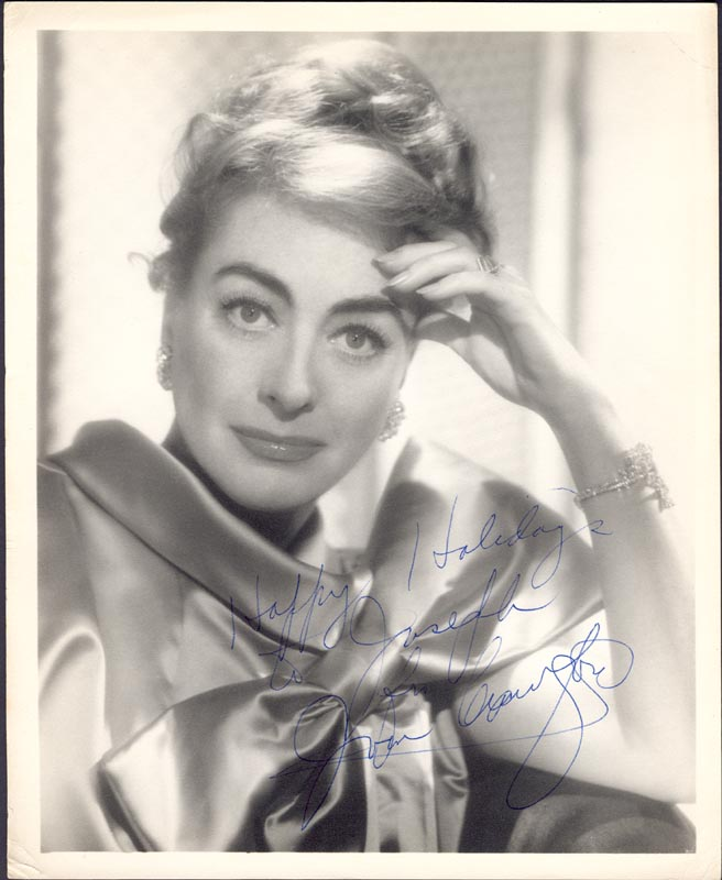 Image 1 for Joan Crawford - Autographed Inscribed Photograph - HFSID 79055