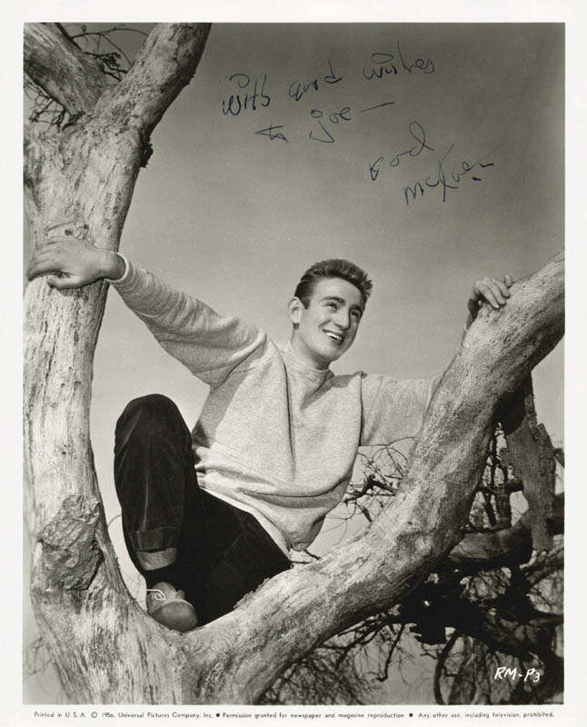 Image 1 for Rod Mckuen - Autographed Inscribed Photograph - HFSID 79068
