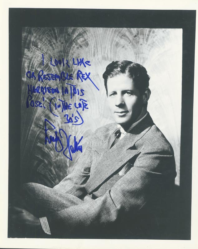 Image 1 for Rudy Vallee - Autographed Signed Photograph - HFSID 79597