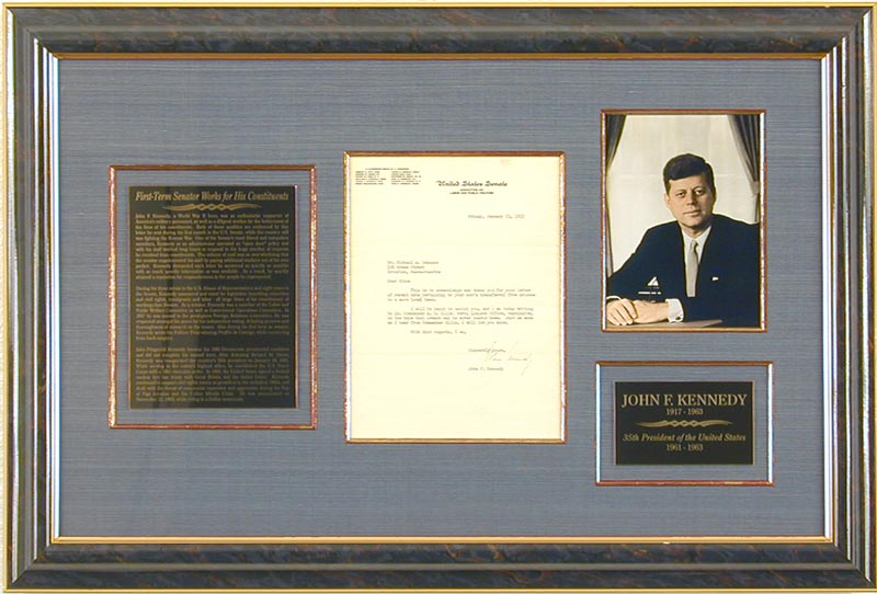 Image 1 for President John F. Kennedy - Typed Letter Signed 01/23/1953 - HFSID 79654
