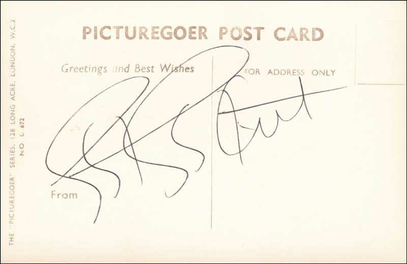 Image 1 for Eartha Kitt - Picture Post Card Signed - HFSID 79780