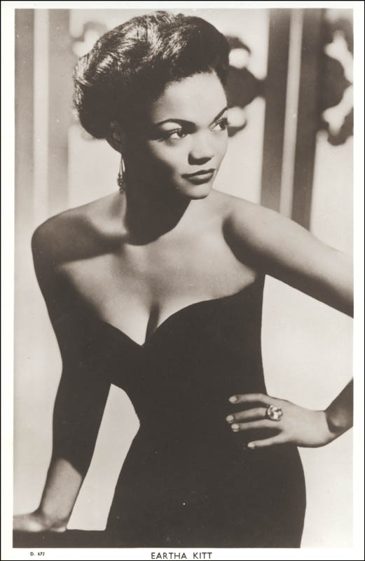 Image 3 for Eartha Kitt - Picture Post Card Signed - HFSID 79780