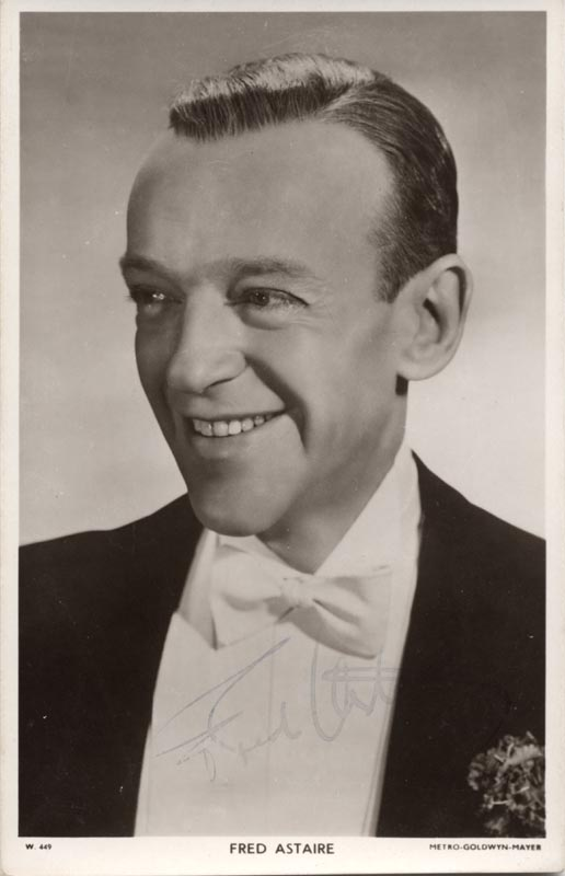 Image 1 for Fred Astaire - Autographed Signed Photograph - HFSID 79857