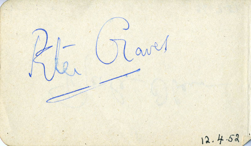 Image 3 for Merle Oberon - Autograph 07/26/1951 co-signed by: Peter Graves - HFSID 79936