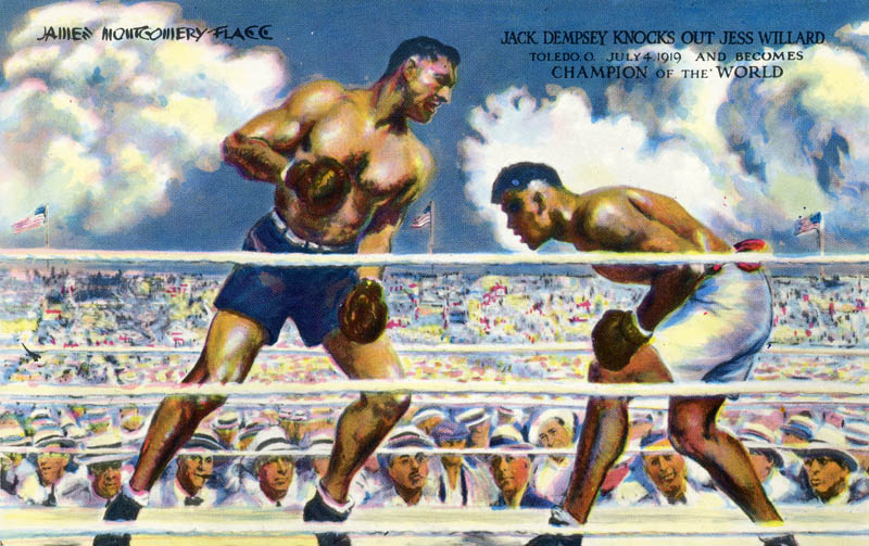 jack dempsey essay We have clowns in constant practice among us who are as far above the clowns  of any other great state as a jack dempsey is above a paralytic — and not a few .
