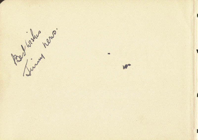 Image 3 for Rene Clair - Autograph Sentiment Signed 04/23/1931 co-signed by: James 'Jim' Bryson, Jimmy Nervo - HFSID 80022