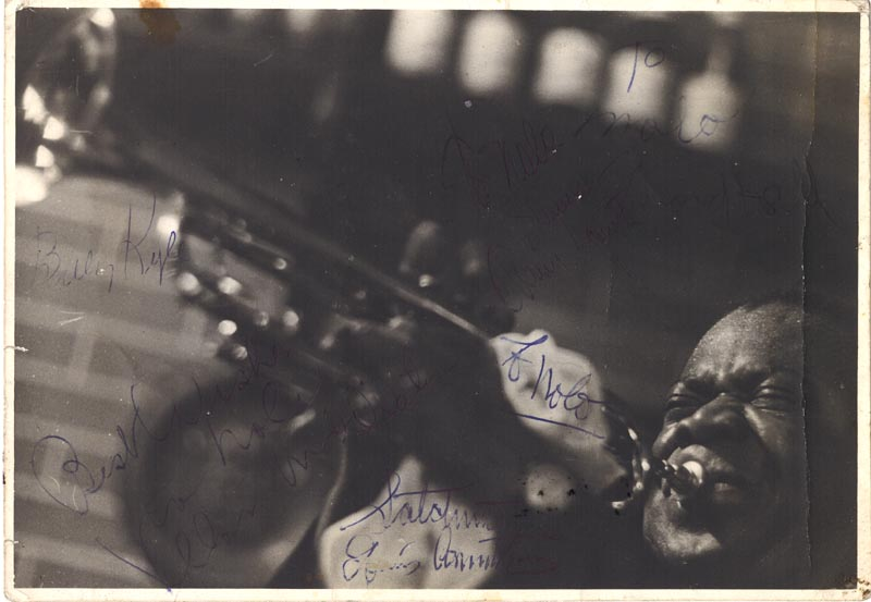 Image 1 for Louis 'Satchmo' Armstrong - Autographed Inscribed Photograph Circa 1958 - HFSID 80050