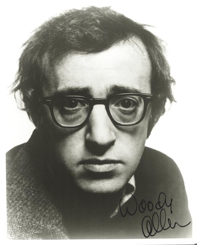 Image 1 for Woody Allen - Autographed Signed Photograph - HFSID 80568