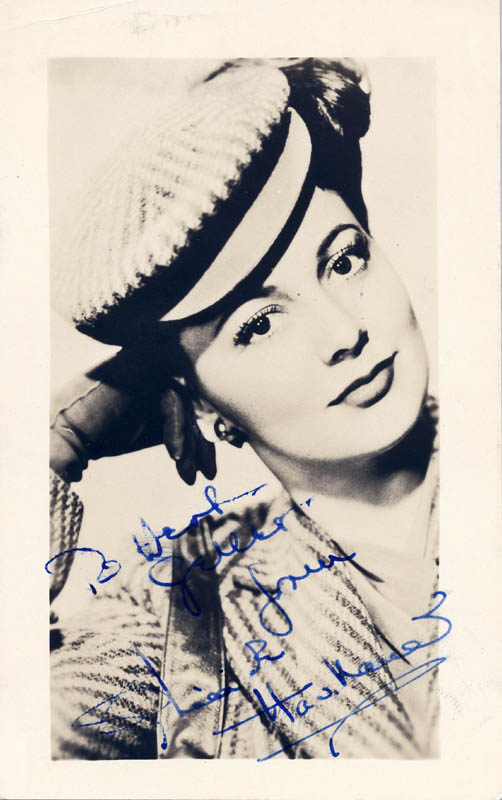 Image 1 for Olivia De Havilland - Autographed Inscribed Photograph - HFSID 80679