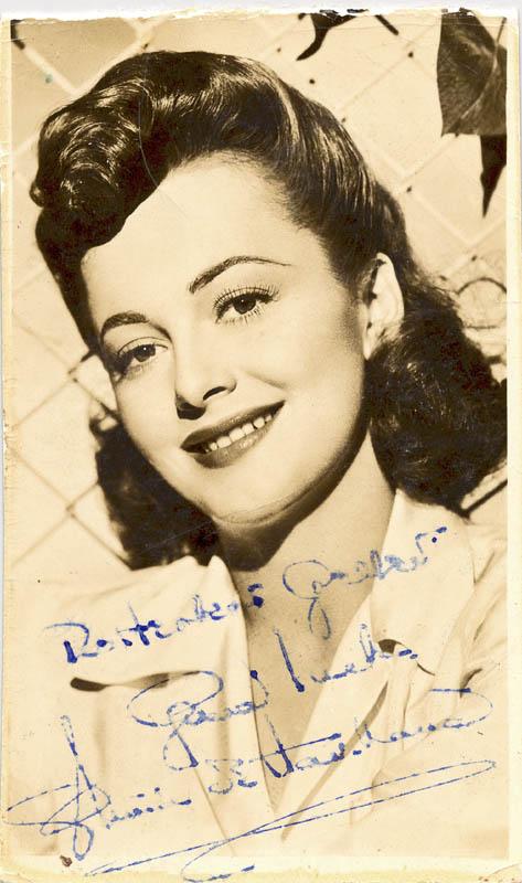 Image 1 for Olivia De Havilland - Autographed Inscribed Photograph - HFSID 80886