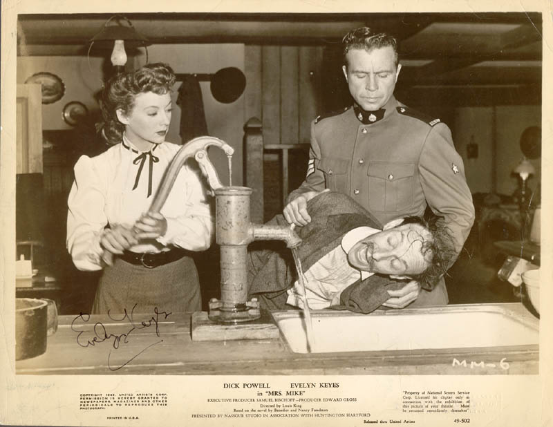 Image 1 for Evelyn Keyes - Autographed Signed Photograph - HFSID 81365