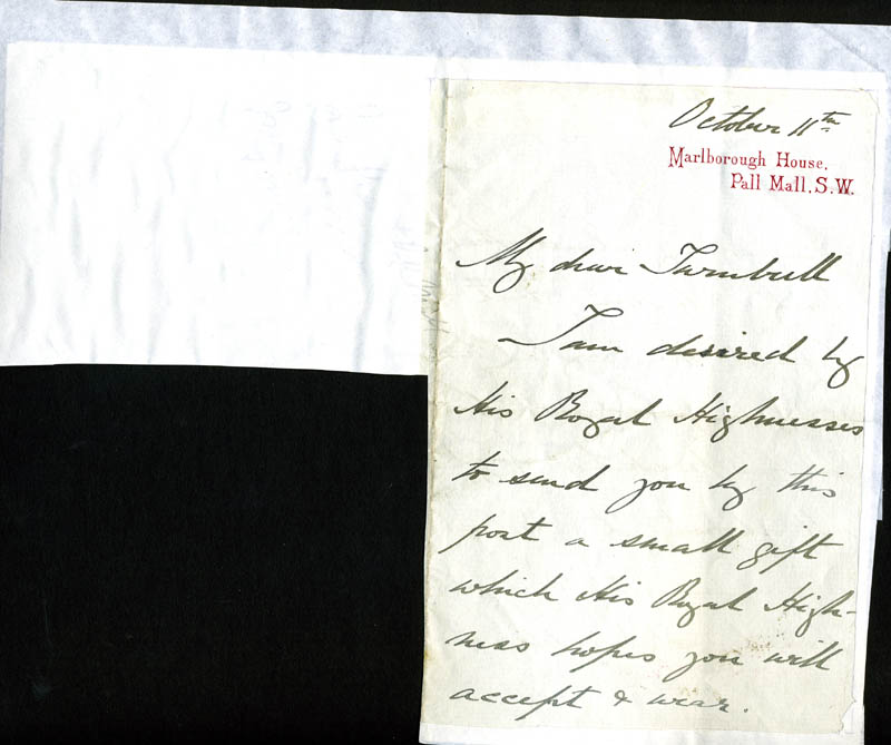 Image 3 for Viscount Crichton - Autograph Letter Signed 10/11 - HFSID 81614