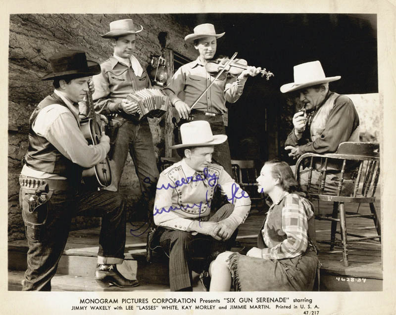 Image 1 for Jimmy Wakely - Autographed Signed Photograph - HFSID 82742