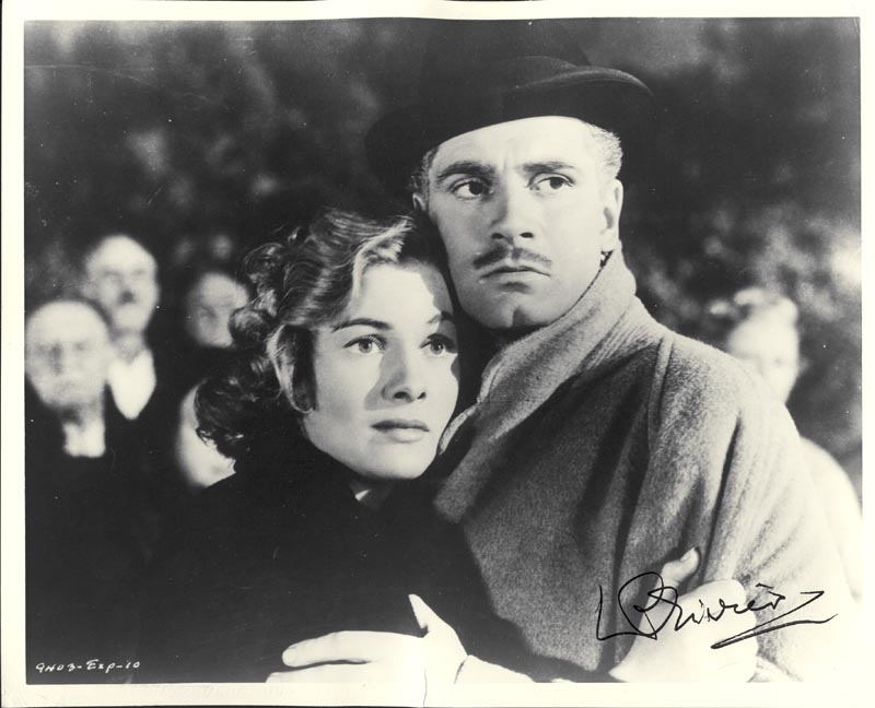 Image 1 for Laurence Olivier - Autographed Signed Photograph - HFSID 828