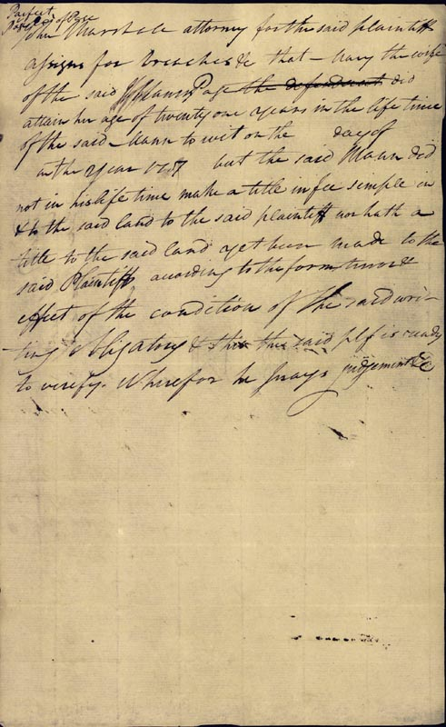 Image 1 for Chief Justice John Marshall - Autograph Document Signed 09/30/1786 - HFSID 82961