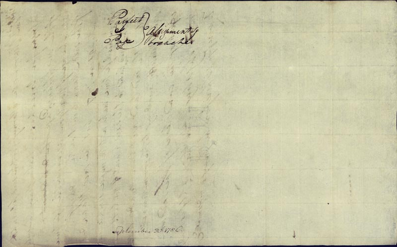 Image 3 for Chief Justice John Marshall - Autograph Document Signed 09/30/1786 - HFSID 82961